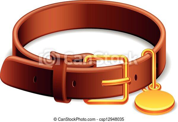 Dog collar. - csp12948035
