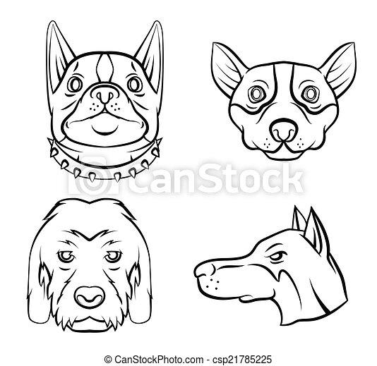 Dog Collection - csp21785225