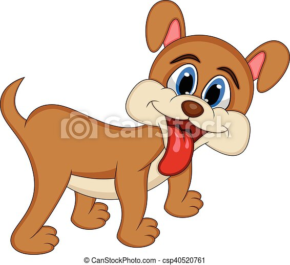 dog cute puppy cartoon full color clip art vector search rh canstockphoto com cute husky puppy clipart cute puppy clipart free
