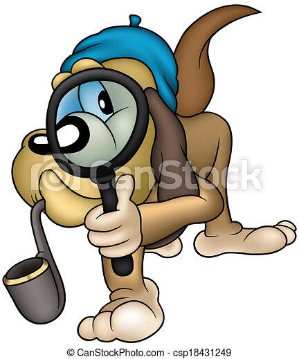 Dog Detective - csp18431249