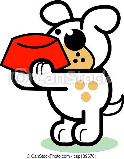 dog dog bowl scrapbooking clip art dog with dog bowl scrapbooking rh canstockphoto com dog bow clip art dog water bowl clipart
