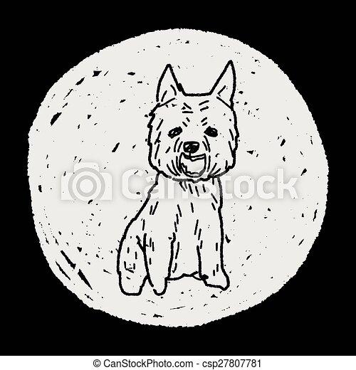dog doodle - csp27807781