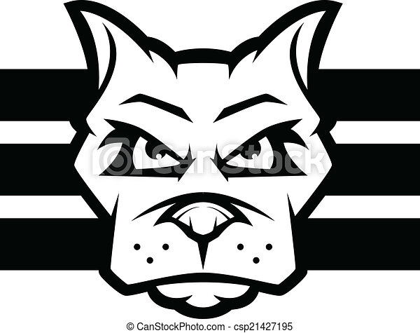 Dog Face - csp21427195