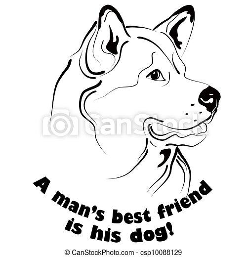 Dog friend - csp10088129