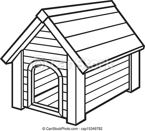 dog house vector search clip art illustration drawings and eps rh canstockphoto com dog house clipart black and white dog house clip art free