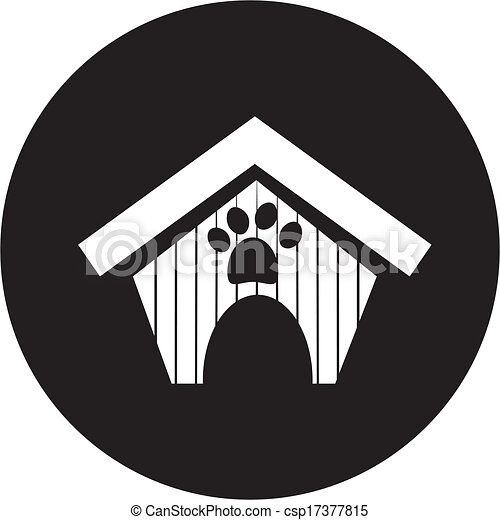 dog house icon - csp17377815