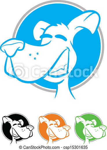 Dog Icons - csp15301635