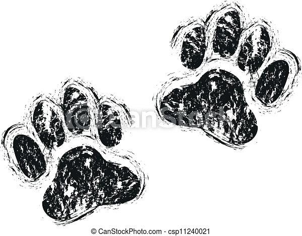 dog paws - csp11240021