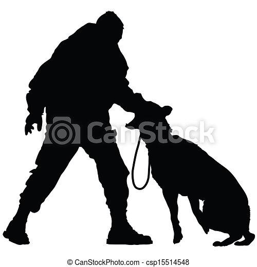 dog, politie, 2 - csp15514548