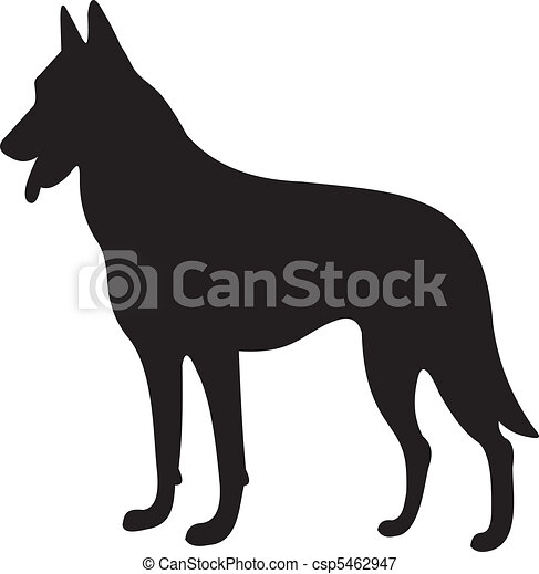 dog silhouette vector dog silhouette isolated on white background