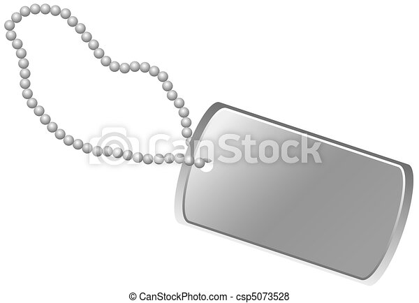 Dog Tag - csp5073528