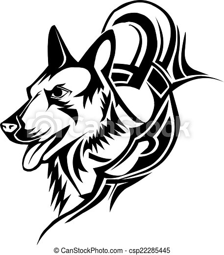 Dog Tattoo Design Vintage Engraving 22285445 besides 214484000981993356 additionally Wolf's moreover Dog lying down clipart as well 2073565. on wolf silhouette clip art