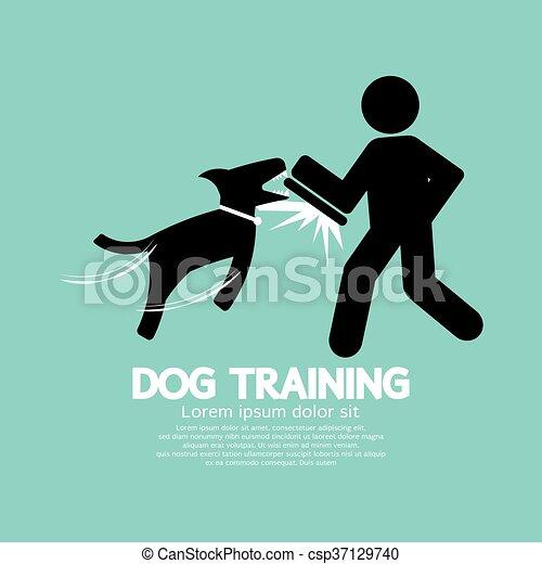 Dog Training Graphic Symbol. - csp37129740