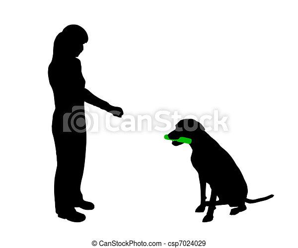 Dog Training Drawings