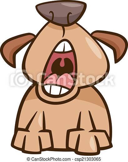 dog yawn cartoon illustration cartoon illustration of funny clip rh canstockphoto com woman yawning clipart person yawning clipart
