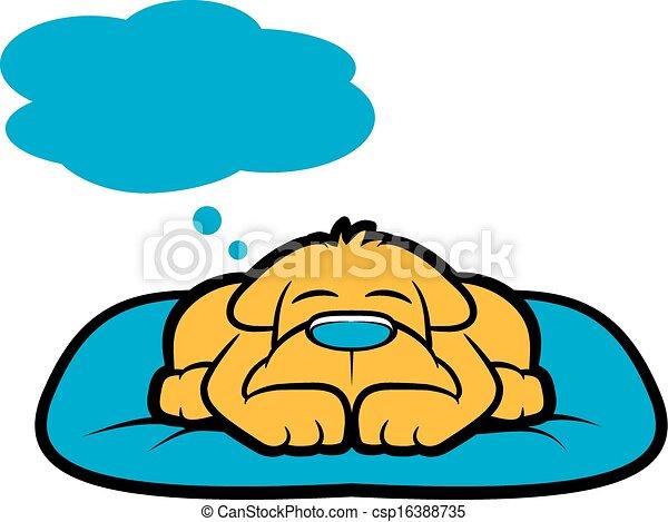 Doggy Dream - csp16388735
