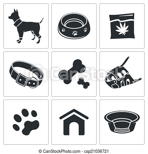 Doggy icon collection - csp21036721