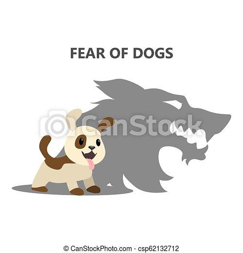 dogs., 恐怖症, 心配, 社会, 恐れ, ∥あるいは∥ - csp62132712