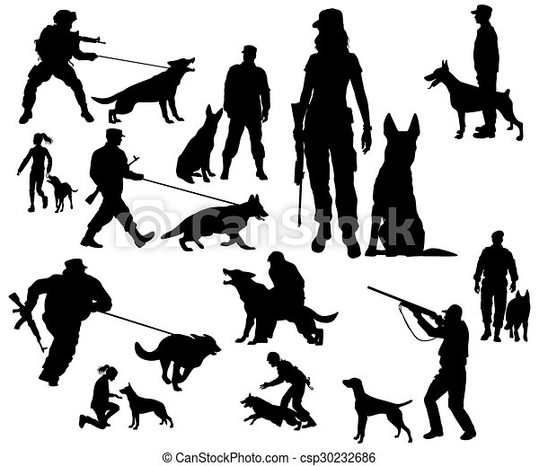 dogs, dog training - csp30232686