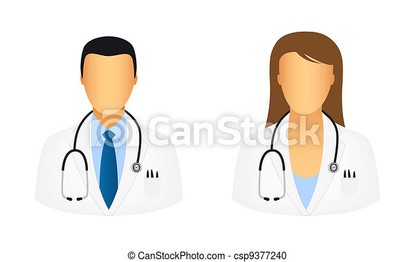 doktor, heiligenbilder - csp9377240