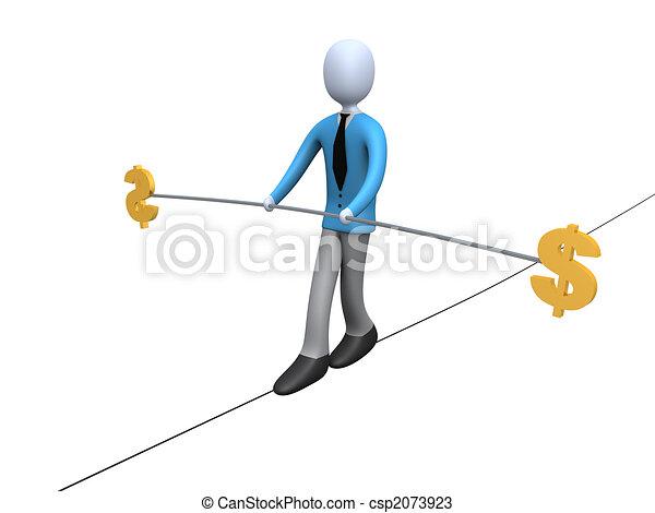 Dollar Balance - csp2073923