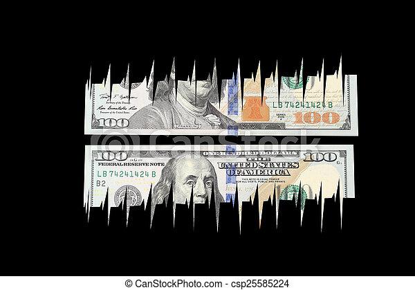dollar bill - csp25585224