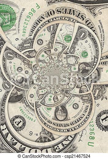 Dollar Bills - csp21467524