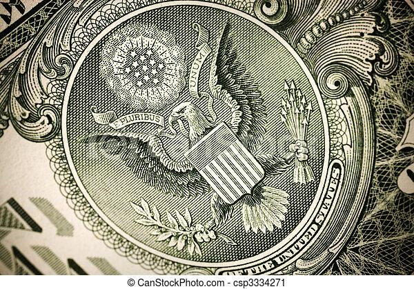 dollar concept - csp3334271