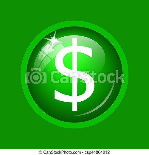 Dollar icon - csp44864012