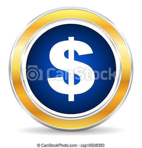 dollar icon - csp16508383