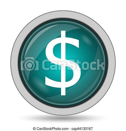 Dollar icon - csp44130167