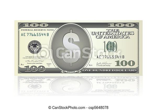 dollar note - csp5648078