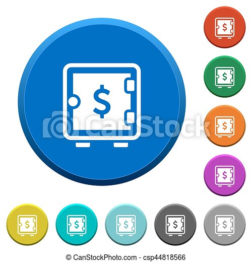 dollar strong box beveled buttons dollar strong box round clip rh canstockphoto ie buttons clipart png button clip art free