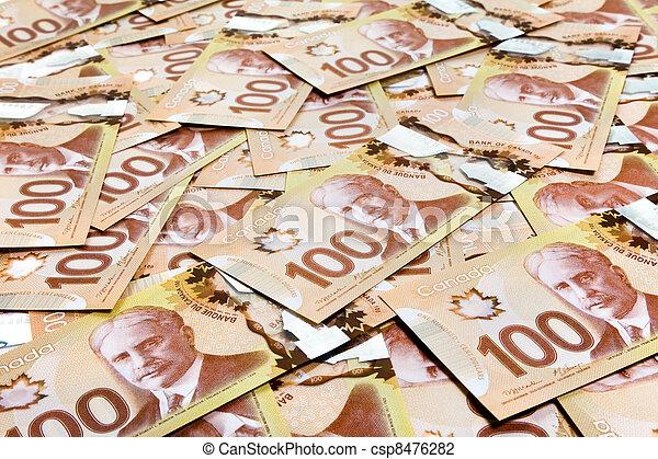 dollaro, canadese - csp8476282