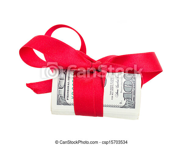 dollars, rulle, bog - csp15703534