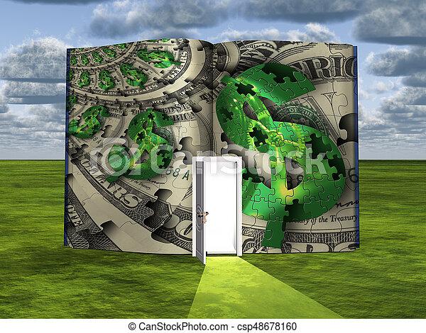 Dollars - csp48678160