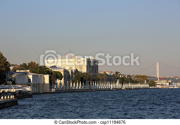 Dolmabahce Palace Istanbul - csp11184676