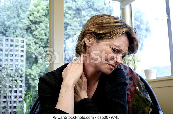dolor, cuello - csp0079745