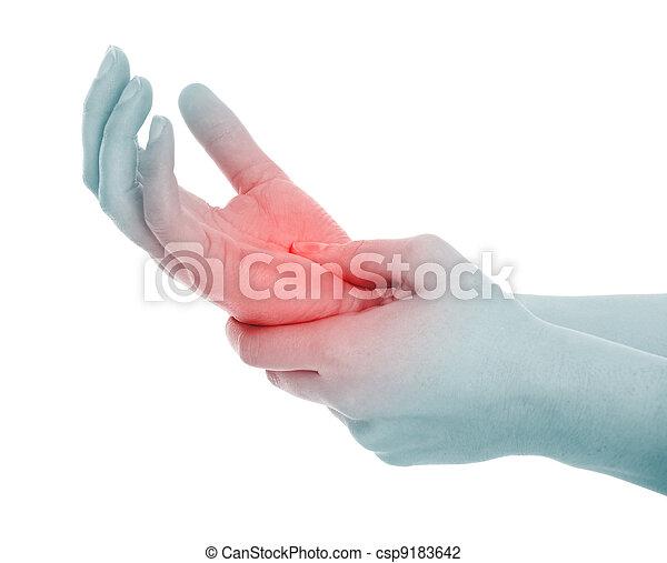 dolor, mano - csp9183642