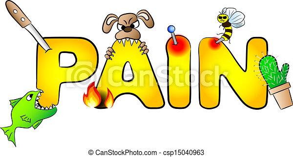 dolori, dolore, molti - csp15040963
