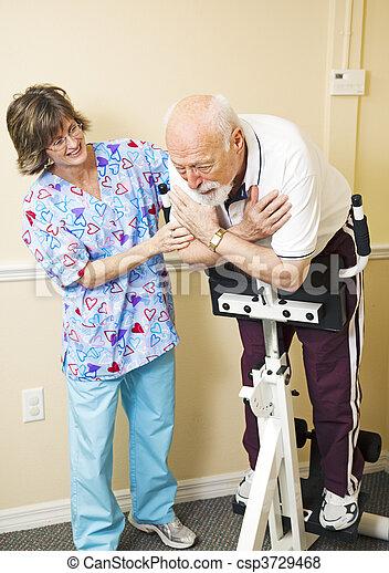 Una dolorosa rehabilitación - csp3729468