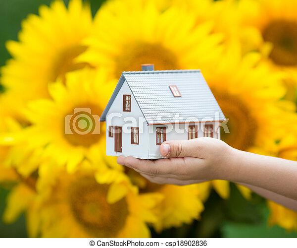 dom, children`s, siła robocza - csp18902836