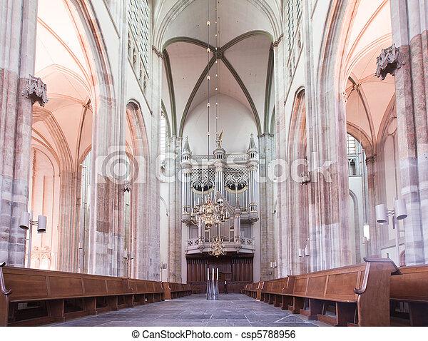 Dom church in Utrecht - csp5788956