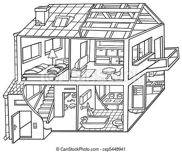 dom, mieszkanie - csp5448941