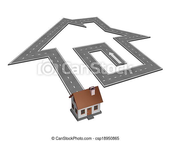 dom przetrząśnięcie - csp18950865