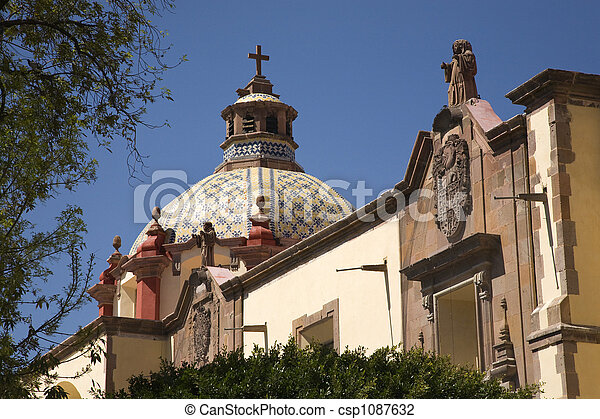 Dome Church Mexico - csp1087632
