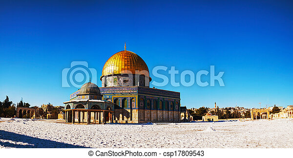 Dome of the Rock in Jerusalem - csp17809543