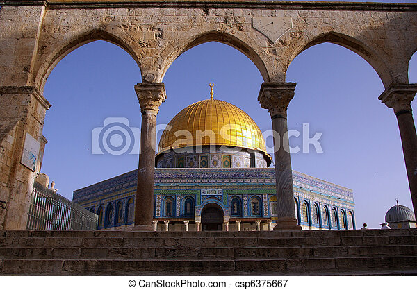 Dome of the rock - csp6375667