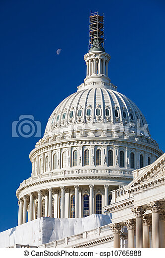 Dome of the US Capitol - csp10765988