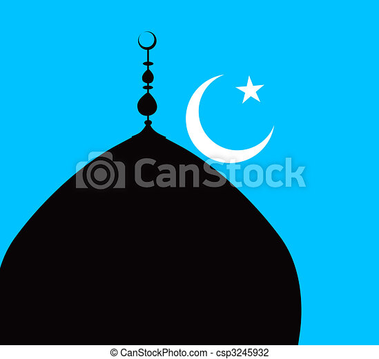 Islamic Minaret stock illustration. Illustration of ... |Lunar Dome Drawings